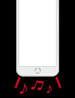 iPhoneスピーカー修理